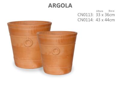 Vaso de Cerâmica Argola