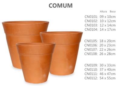 Vaso de Cerâmica Comum