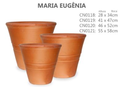 Vaso de Cerâmica Maria Eugênia