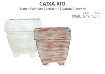 Vaso Cimento Caixa Rio