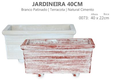 Vaso Cimento Jardineira 40cm