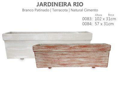 Vaso Cimento Jardineira Rio